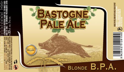 BPA Bastogne Päle Ale BPA IPA Brasserie Minne Houblon
