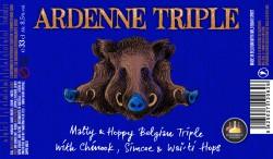 Brasserie Minne Ardenne Triple Bière 75cl