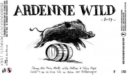 Brasserie Minne Sour Beer Bière Sûre Acide Aged Barrel Foudre Sanglier Wild Ardenne