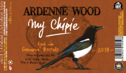 wood chipie barrel aged genever
